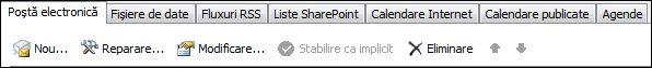 Outlook 2010 - Adăugare cont nou