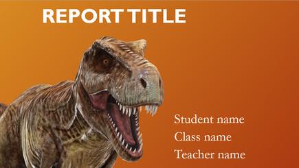 Imagine conceptuală a unui raport școlar 3D