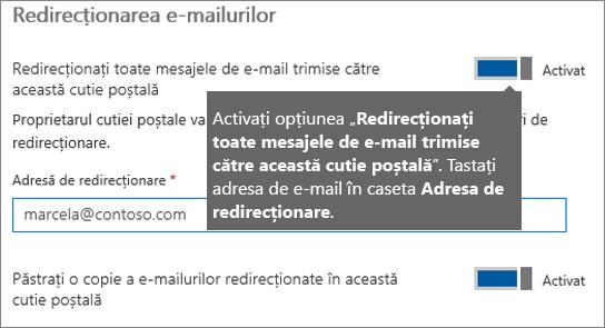 Adăugați adresa de e-mail a angajatului curent.