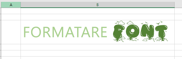 Utilizați fontul Text îmbogățit pentru mai multe tipuri de formatare de text