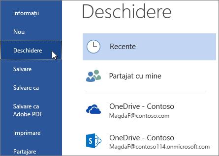 Conectare - Desktop