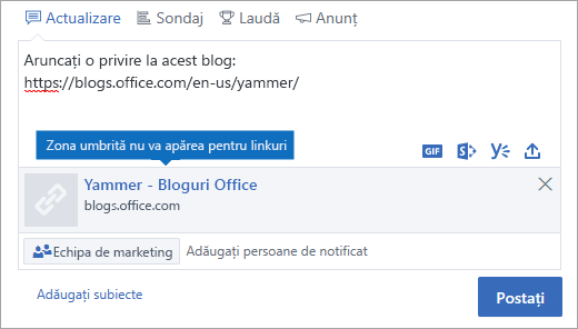 Linkul preview nu va fi vizibilă în modul de documente Internet Explorer 10