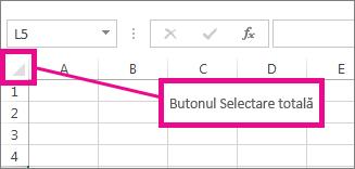 Butonul Selectare totală