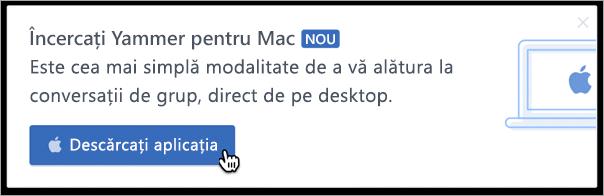 Mesagerie în cadrul produsului pentru Mac