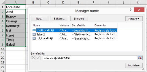 Manager nume