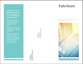 Șablon de broșură în PowerPoint Online