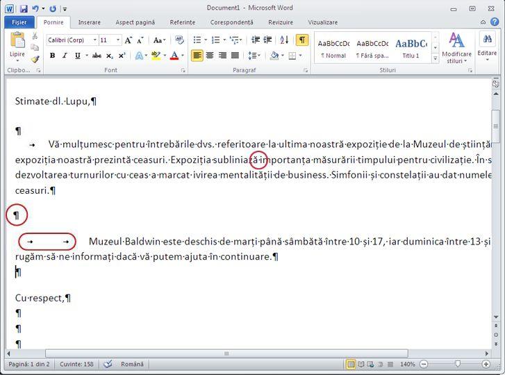 Document Word 2010