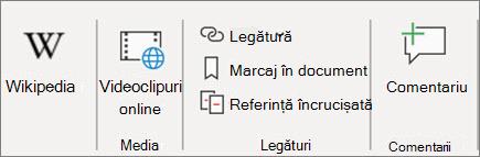 Adăugarea unui link în Word
