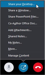 Alegeți solicitare desktop