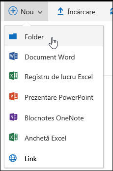 Folder de bibliotecă Document nou