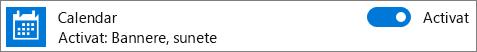 Dezactivați notificările din Calendar în Windows 10 utilizând setările de sistem