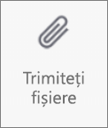 Butonul Trimiteți fișiere în OneDrive pentru Android