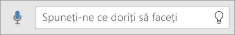 """Afișează caseta de căutare """"Spune-mi"""" în Office Mobile"""