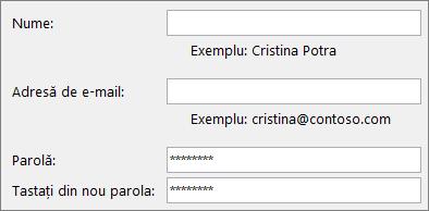 Pornire rapidă pentru angajați: Crearea unui cont de e-mail Outlook