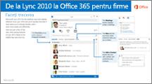 Miniatură pentru ghidul de trecere de la Lync 2010 la Office 365
