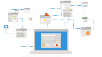 Imagine conceptuală a dispozitivelor de urmărire web