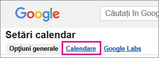 google calendar - click Calendars