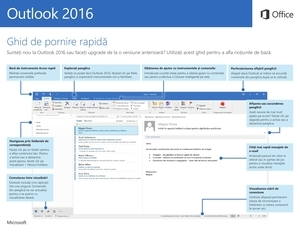 Pornire rapidă Outlook 2016 (Windows)