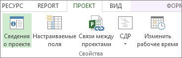 "Изображение кнопки ""Сведения о проекте"""