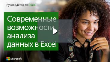 Женщина улыбающаяся, учебный справочник по Excel