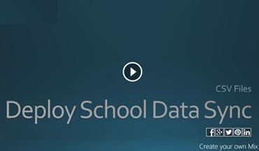 Видео о развертывании School Data Sync