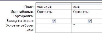 Конструктор запросов с условием для запроса записей с пустым полем значения
