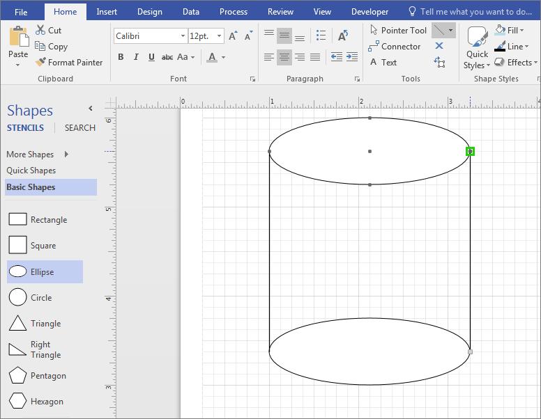 Нарисуйте линии вручную, чтобы дополнить фигуру.
