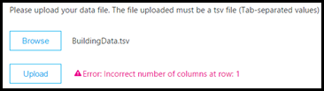 Ошибка проверки загрузки образца CQD