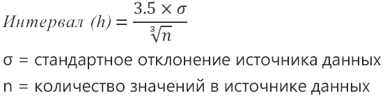 "Формула для параметра ""Автоматически"""