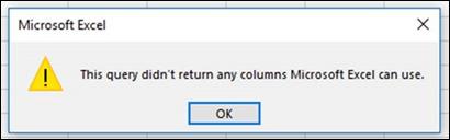 Сообщение об ошибке при объединении двоичных файлов. Это известная ошибка, которая будет устранена.