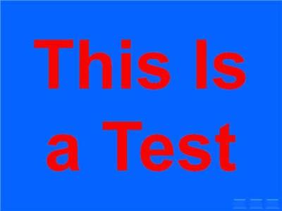 Красный и синий цвета на слайде