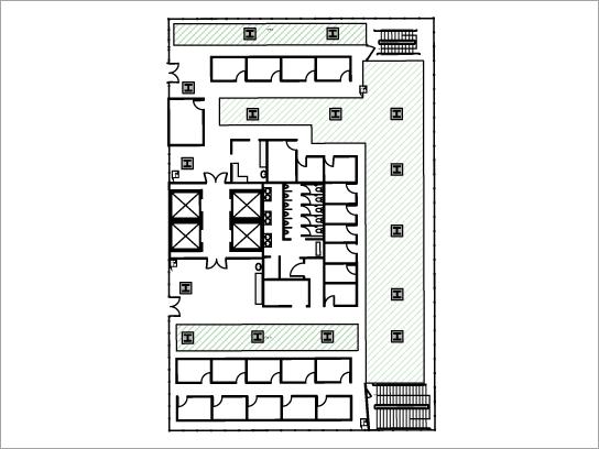 Загрузите шаблон плана этажа