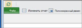 Кнопка включения редактирования в Power View в SharePoint