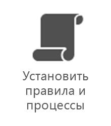 """Отдел управления проектами — """"Установить правила и процессы"""""""