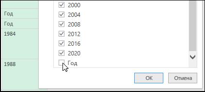 """Power Query > """"Редактор запросов"""" > фильтрация для очистки данных"""
