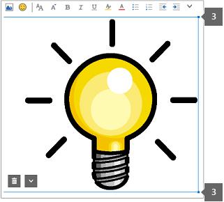 Перетащите маркеры изображения, чтобы увеличить или уменьшить его.