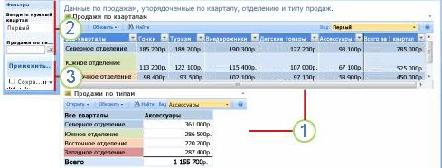 """Веб-часть """"Действия фильтра"""""""