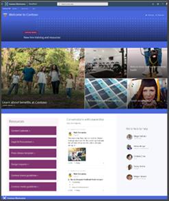 Учебный сайт с новыми сотрудниками