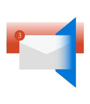 Игнорируйте беседы с большим количеством участников, чтобы не захламлять почтовый ящик.