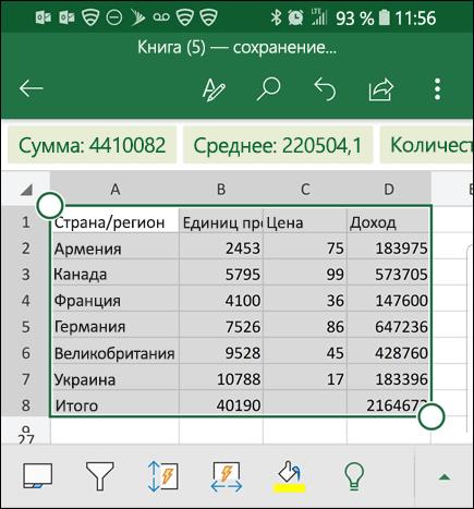 Excel выполнил преобразование ваших данных и возвращает их в ячейку.