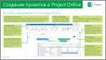 Краткое руководство: создание проектов в Project Online