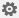 "Кнопка ""Параметры"" в форме шестеренки"