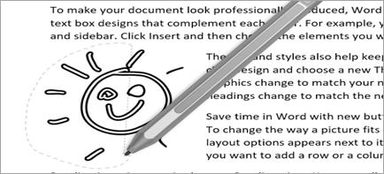 Изображение произвольного выделения в документе