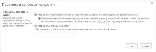 """Панель """"Запрос на доступ"""""""