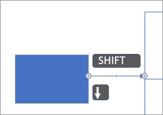 Перемещение соединительной линии с шагом в пиксель