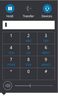 Панель набора номера