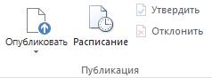 "Вкладка ""Публикация"""