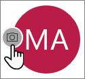 Щелкните значок камеры, чтобы добавить фотографию