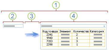 Общие сведения о соединении с веб-частью фильтра