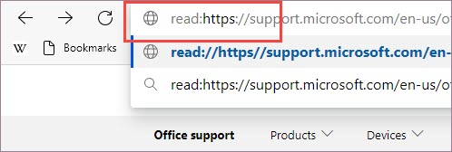 Добавьте префикс к URL-адресу.